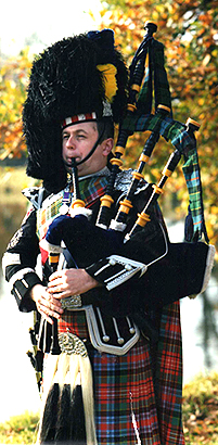 Pipe Major Steve Duffy
